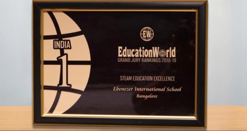 No. 1 in India for excellence in STEM education 2018-19